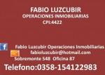ALQUILER CASA APTA OFICINA CENTRICA CALLE MITRE 2 DORM. $5.800, Fabio Luzcubir Operaciones Inmobiliarias, rio cuarto